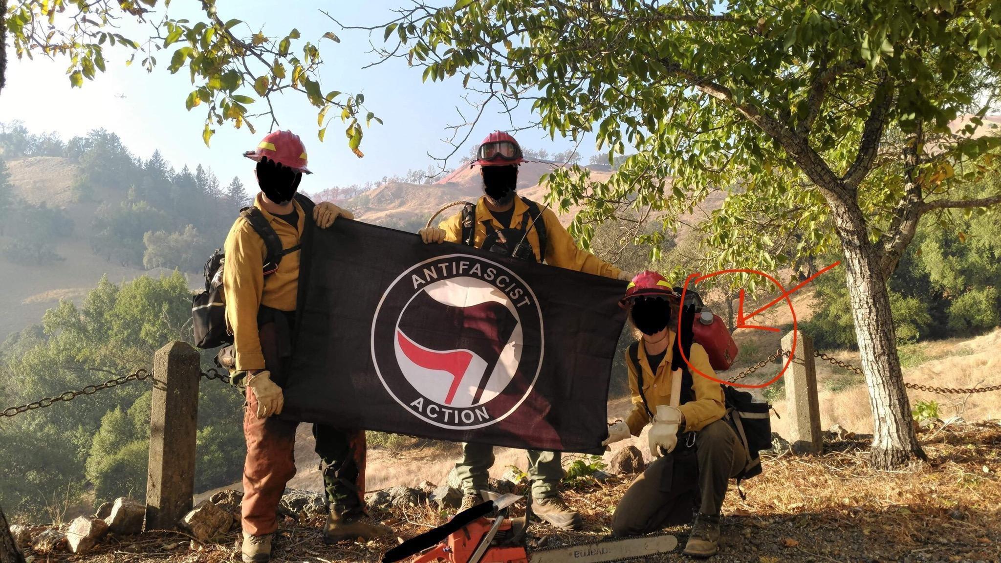 Antifa Hotshots?